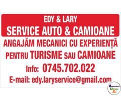Angajez mecanic la o hala service auto in Candesti , Buzau